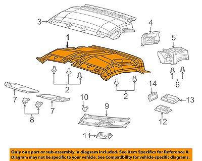 Ram CHRYSLER OEM 2015 ProMaster City Interior-Roof-Front Headliner (Best Auto Upholstery Adhesive Headliner Roof)