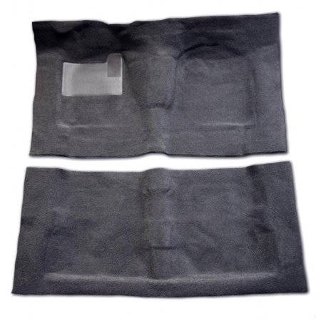 - Lund 94-03 Chevy S10 Std. Cab Pro-Line Full Flr. Replacement Carpet - Charcoal (1 Pc.)