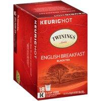 Twinings of London® English Breakfast Tea 18 ct K-Cup® Pods 1.90 oz. Box