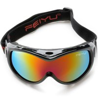 ODOLAND Anti-Fog Windproof Kids Ski Goggles Youth Snowboard Snowmobile Goggles