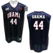 RapDom President Barack Obama  44 Mens Basketball Jersey  Navy Blue - 2XL  ddde5d82d