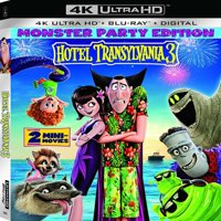 Hotel Transylvania 3: Summer Vacation (4K Ultra HD + Blu-ray + Digital Copy)