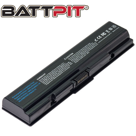 - BattPit: Laptop Battery Replacement for Toshiba Satellite L500 Series, B-5038, PA3533U-1BAS, PA3534U-1BAS, PA3535, PA3682, PA3682U (10.8V 4400mAh 48Wh)