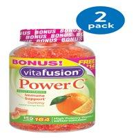 Vitafusion Power C Adult Vitamin C Gummies, Orange, 240 mg, 164 Ct BONUS