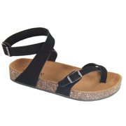 145f36e3af8 Glory-610 Women Sandals Shoes Gladiator Thong Flops T Strap Flip Flat  Strappy Toe Black