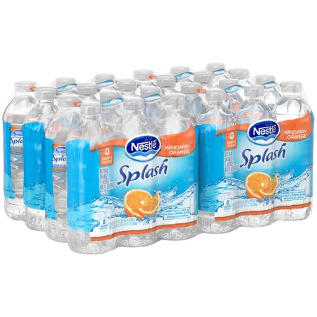 Great Grapes Flavored Water (Nestle Splash Natural Orange Flavored Water, 16.9 Fl. Oz., 24 Count )