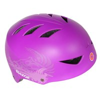 Razor 2 Cool Child Kids 5 - 8 Years Adjustable Bike Cycling Skate Helmet, Purple