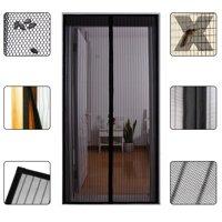 """Magnetic Screen Door - Heavy Duty Mesh & Super Strong Velcro & Magnet Fits Doors Up to 34"""" x 82"""""""