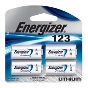 Energizer 123 Lithium Photo Battery - 4 Pack