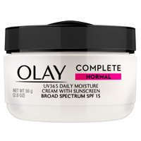 Olay Complete Cream Moisturizer with SPF 15 Normal, 2.0 oz