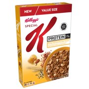 (2 pack) Kellogg's Special K Protein Cereal, Honey Almond, 16.5oz