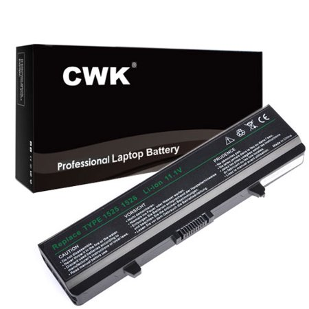 CWK Long Life Replacement Laptop Notebook Battery for Dell M911G OK456 GW252 GW240 X284G OX284G Dell Inspiron 1525 1526 1545 1546 gw252 gw952 m911g rn873 x284g GW952 RU586 (Laptop Battery Replacement For Dell Inspiron 1525)