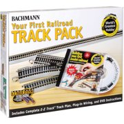 Bachmann Trains Nickel Silver World'S Greatest Hobby First Railroad Track Pack, HO Scale