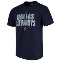 Men's Navy Dallas Cowboys Dimensional T-Shirt