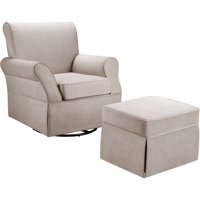 Baby Relax Kelcie Swivel Glider & Ottoman, Choose Your Color