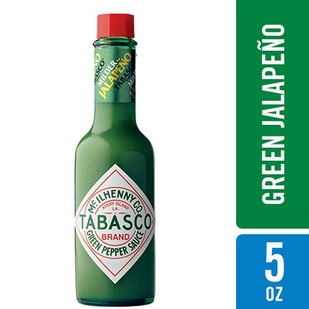 Tabasco Green Jalapeno Pepper Sauce 5 fl. oz. - Steak Pepper Sauce