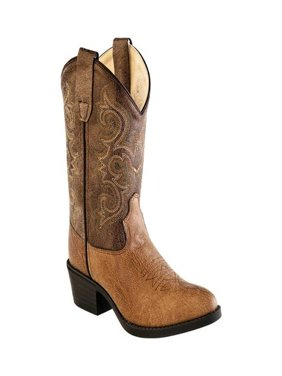 Children's Old West All Over J Toe Cowboy Boot