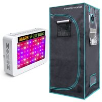 Mars 300W Led Grow Light Veg Flower Plant Indoor Hydro/27×27×63 Grow Tent Kits