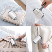 Sticky Hair Lint Roller Cleaning Remover Pet Brush Clothes Fluff Picker Reusable