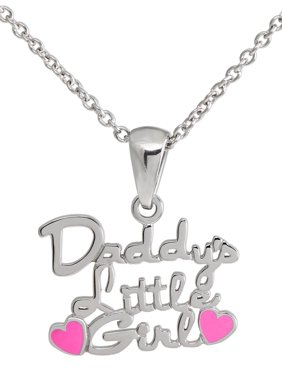 "Connections from Hallmark Girls' Stainless Steel ""Daddy's Little Girl"" Pendant"