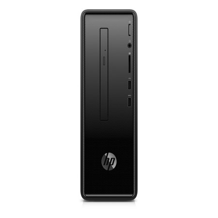 HP Slim Desktop Tower, Intel Celeron G4900, Intel UHD Graphics 610, 500GB HDD, 4GB SDRAM, DVD, Mouse and Keyboard, 290-p0043w
