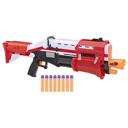 Mega Blaster (Nerf Fortnite TS Nerf Mega Pump Action Dart Blaster with 8 Nerf Mega)