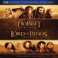 Middle-Earth Theatrical Collection: The Hobbit Trilogy and The Lord Of The Rings Trilogy (Blu-ray)