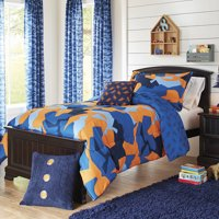 Better Homes and Gardens Kids Camo Navy Bedding Comforter Set