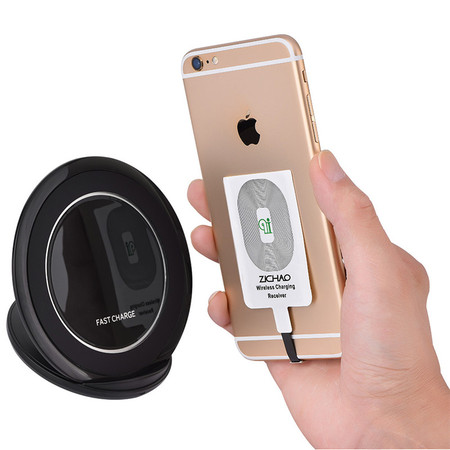 Zerone Wireless Charging Charger Coil Receiver Portable Qi Standard Smart For Iphone 5 5C 5S 6 6S 6 Plus 6S Plus 7 7 (Best Cases For Iphone 5c Iphone 5s Phone Cases)