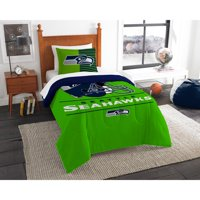"NFL Seattle Seahawks ""Draft"" Bedding Comforter Set"