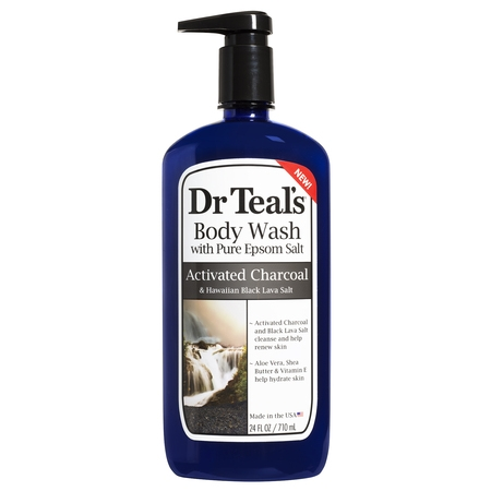 Dr Teal's Charcoal Body Wash, 24 fl - Active Charcoal Body Wash