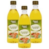 (3 Pack) Great Value Classic Olive Oil, 17 oz