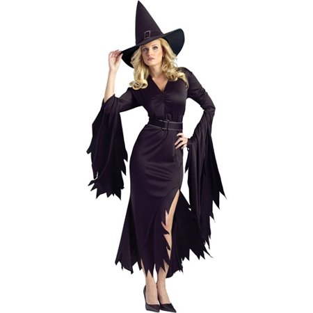 Gothic Witch Adult Halloween Costume](Adult Witches Costume)
