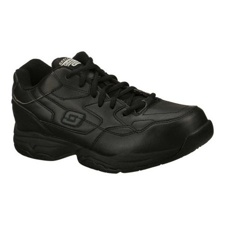 Skechers Work Men's Relaxed Fit Felton Altair Slip Resistant (Best Nursing Shoes Skechers)