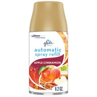 Glade Automatic Spray Refill Apple Cinnamon, Fits in Holder For Up to 60 Days of Freshness, 6.2 oz, 1 Refill