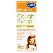 Maty's Cough Syrup for Children for Ages 1+, 4 fl oz