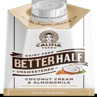 (3 Pack) Califia Farms Better Half Unsweetened Creamer, 16.9 fl oz