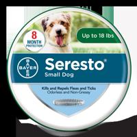 Seresto Flea and Tick Prevention Collar for Small Dogs, 8 Month Flea and Tick Prevention