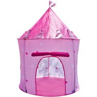 Matney Castle Princes Girls Childrens Outdoor Play Tent/Indoor Playhouse, Easy to Assemble and Disassemble Taking Them From Indoor to Outdoor Hassle Free