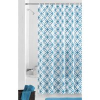 Mainstays Hadley Teal PEVA Shower Curtain or Liner