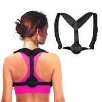 Back Posture Corrector for Men For Women - Adjustable Posture Brace for Back Clavicle Support and Upper Back Correction