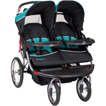 - Baby Trend Navigator Double Jogger Stroller, Tropic