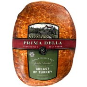 Prima Della Whole Oven Roasted Breast Of Turkey, Deli Sliced