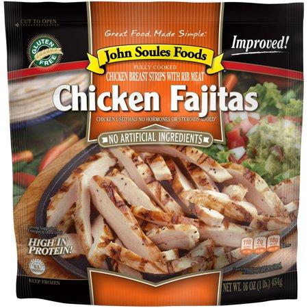 John Soules Foods Chicken Fajitas 16oz Frozen Walmart
