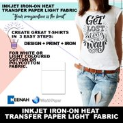 Iron on T-shirt Transfer Papers