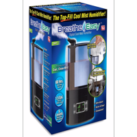 Breathe Easy Humidifier Ultra Cool Mist - As Seen on TV