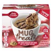 (6 Pack) Betty Crocker Mug Treats Soft-Baked Chocolate Chip Cookie 13.9 oz Box