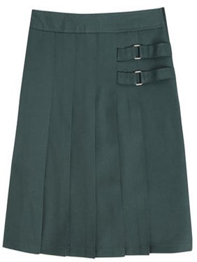 French Toast School Uniform Girls Two Tab Pleated Scooter Skirt Available in Sizes 4 thru 20 - 30 Day Guarantee - FREE SHIPPING
