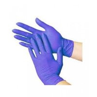 Blue Nitrile Disposable Gloves, Latex & Powder Free, Economy Grade, Size: Large, 100 Count