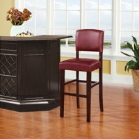 Linon Monaco Bar Stool, 30 inch Seat Height, Multiple Colors